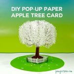 Pop-Up Paper Apple Tree Card (3D Sliceform)