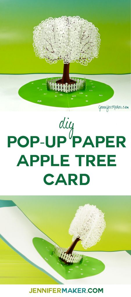 DIY Pop-Up Apple Tree Card Tutorial