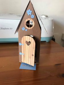 Fairy House Card, made by Sue Reeve