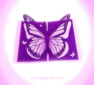 Lavender Butterfly by Misty Morgan