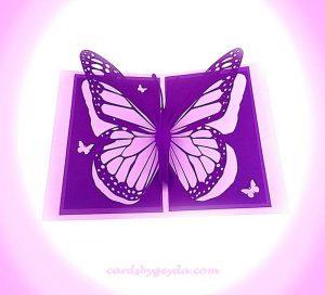 Lavender Butterfly by Misty Morgan