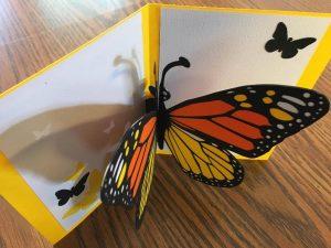 Monarch Butterfly Card by Dana Mahan