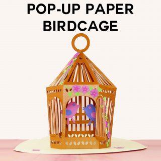 Pop-Up Paper Birdcage