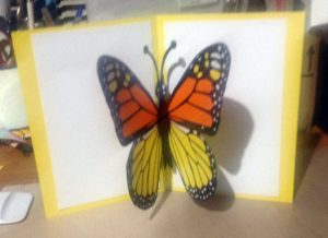 Butterfly Card by Bonita Clark
