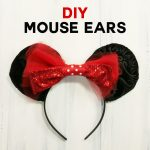 DIY Mickey Mouse Ears Tutorial - Sew or No-Sew!