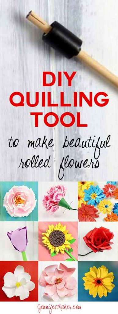 DIY Quilling Tool for Rolled Flowers