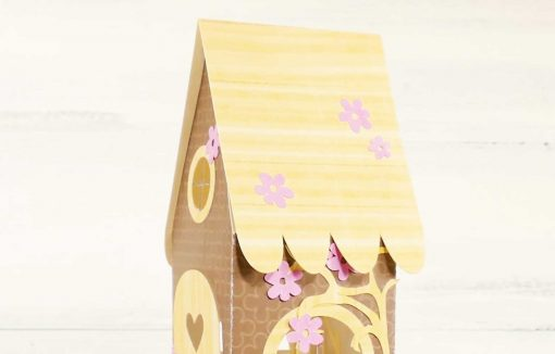 Attach the roof to the Fairy House Card