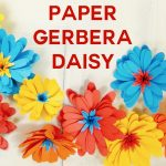 Paper Daisy | Gerbera | Rolled Flower | Cricut | SVG File