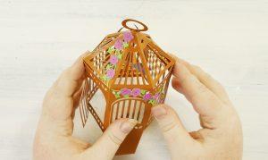 Shape your pop-up birdcage