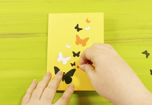 DIY Pop Up Butterfly Card