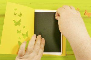 DIY Pop Up Butterfly Card