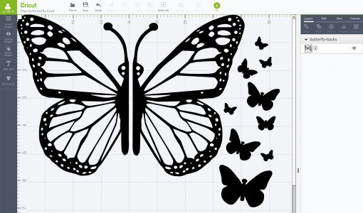 Free SVG Files for a Pop-Up Butterfly Card