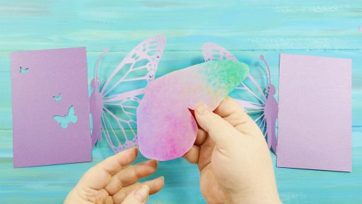DIY Pop-Up Butterfly Card Materials