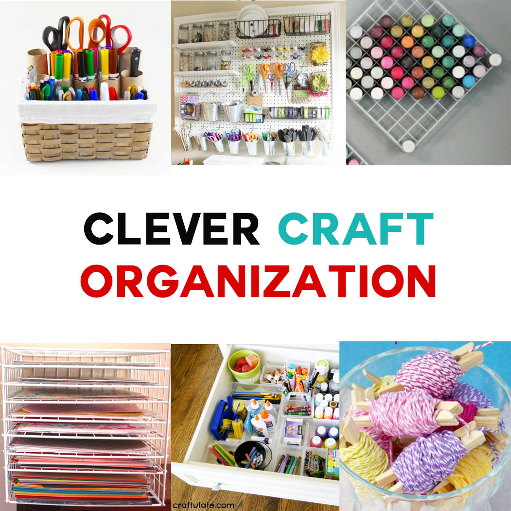 7 amazing craft organization ideas you 39 ll love jennifer for Craft supplies organization ideas