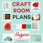 See this craft blogger's plans for the ultimate (yet inexpensive) craft room renovation with a vintage industrial feel!