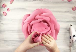 Attach more petals to your rosebud