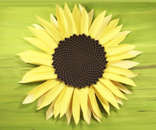 Giant Paper Sunflower Tutorial This Will Mesmerize You