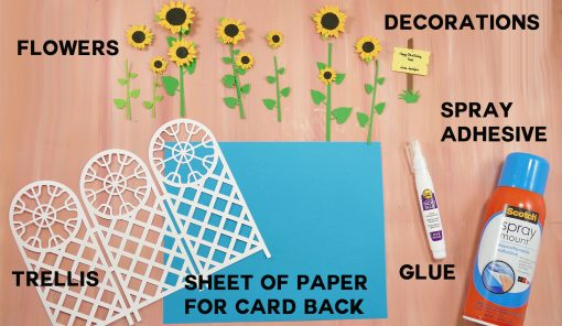 Materials for the Paper Trellis Tri-Fold Card