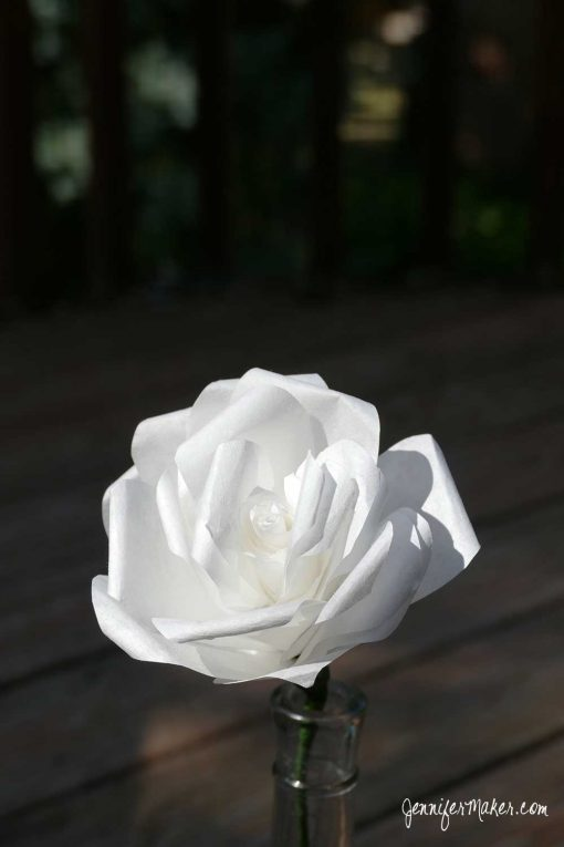 How to Make Coffee Filter Roses | Coffee Filter Flower Tutorials