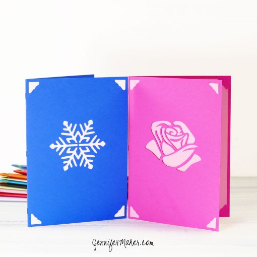 Two Easy Layers Greeting Cards