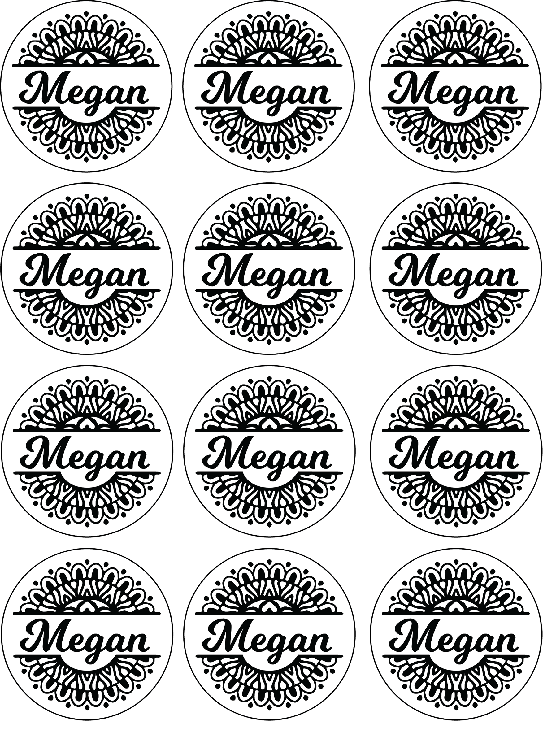 Download the sticker file at https jennifermaker com wp content uploads 2017 07 megan stickers png go