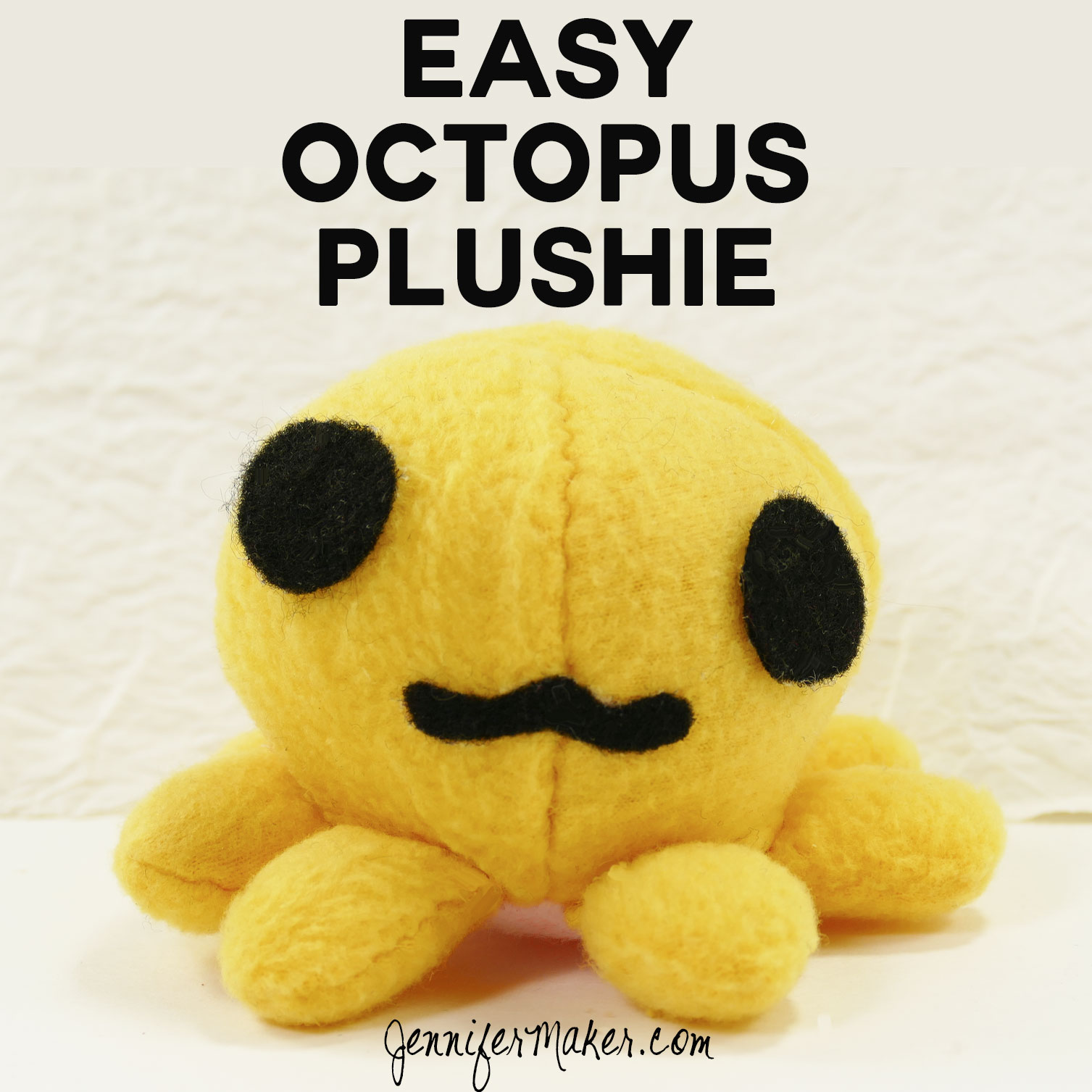 Make this easy octopus plushie | free pattern and tutorial
