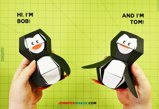 Bob and Tom the Penguin Paper Bombs