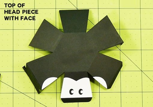 Put the face on your penguin paper bomb