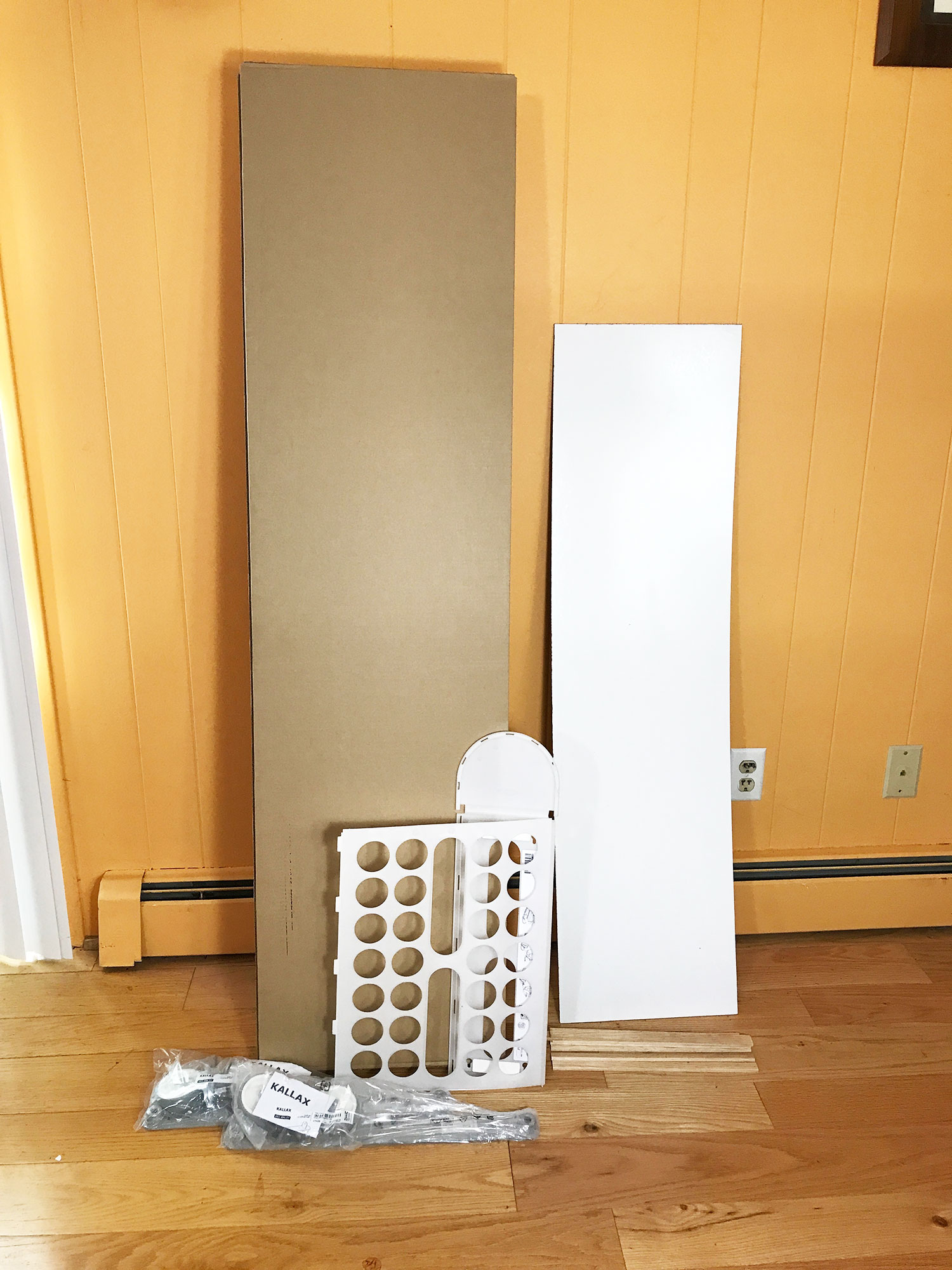IKEA Kallax Ready To Be Assembled