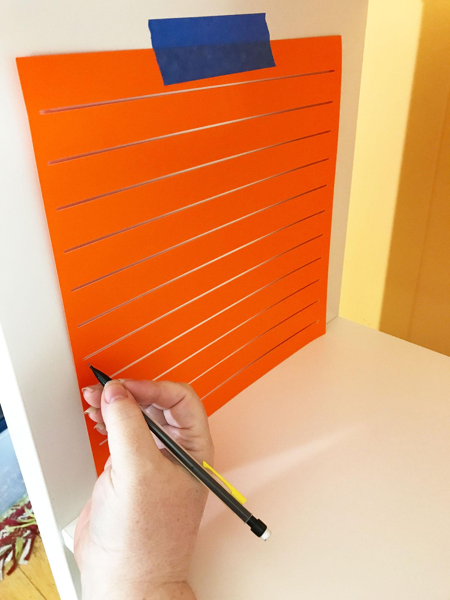 12x12 scrapbook paper storage organizer marking jennifer maker. Black Bedroom Furniture Sets. Home Design Ideas