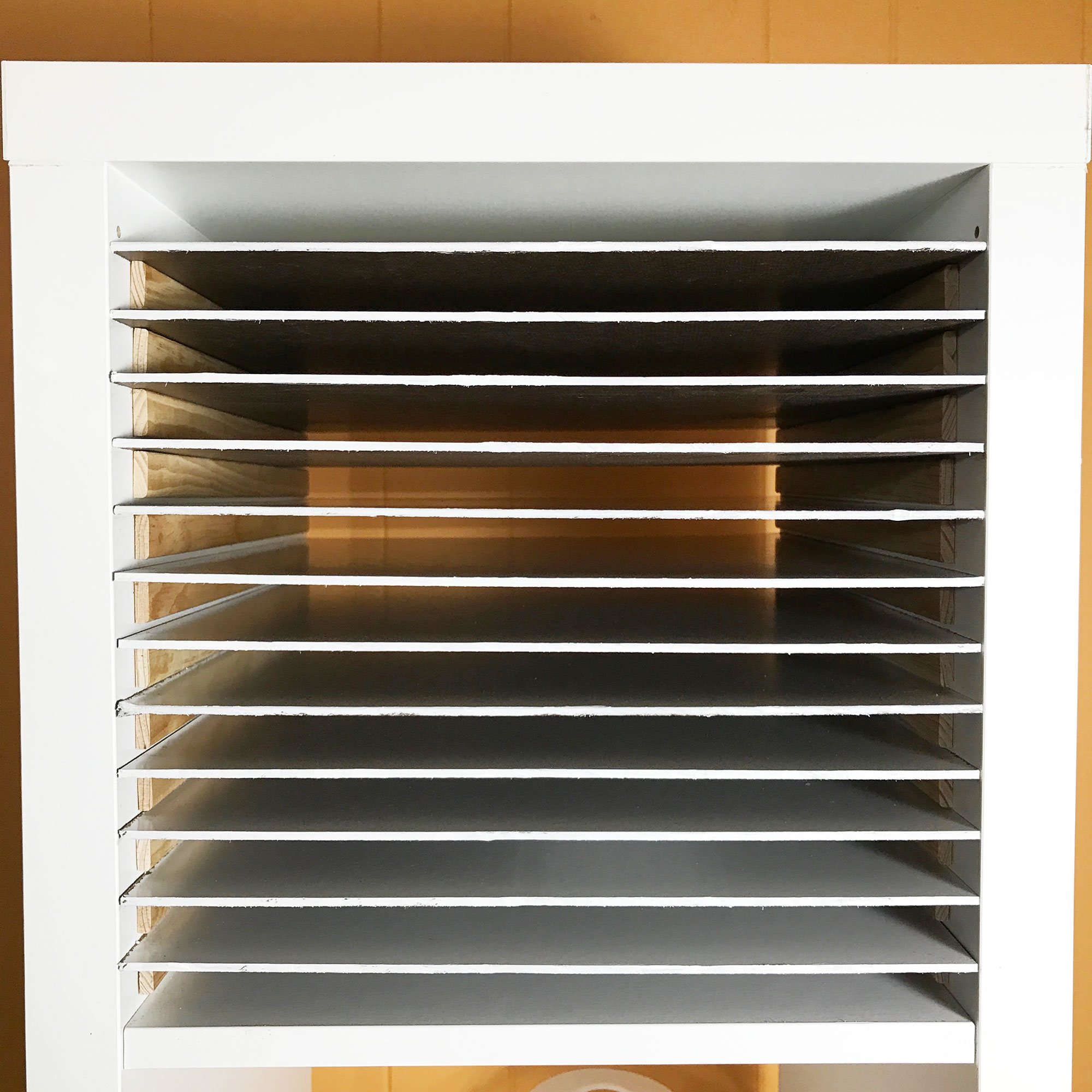 12x12 Scrapbook Paper Storage Organizer Shelves Done Jennifer Maker
