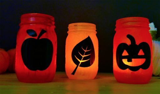 Light up your Easy Mason Jar Luminaries