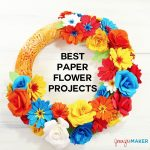The Best Paper Flower Project Tutorials
