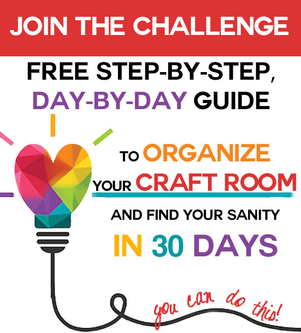 30 Day Craft Room Challenge