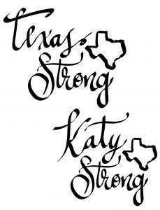 Stay Strong Katy Texas Decals Designs | SVG DXF PDF