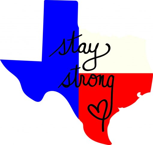 Stay Strong Texas Decals Designs | SVG DXF PDF