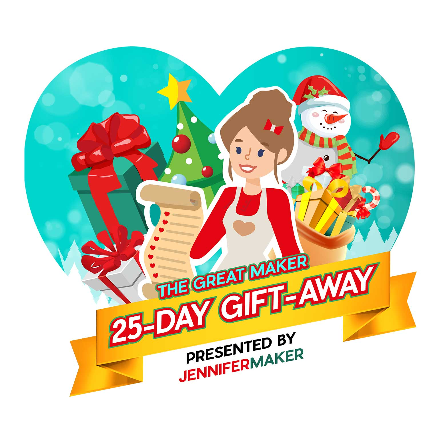 The Great Maker 25-Day Gift-Away Extravaganza for 2020