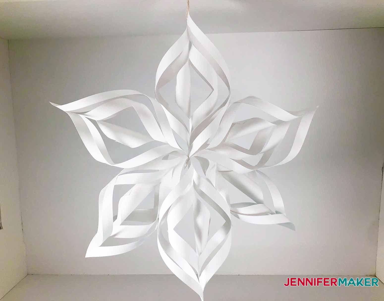 finished snowflake for my 3D Snowflake