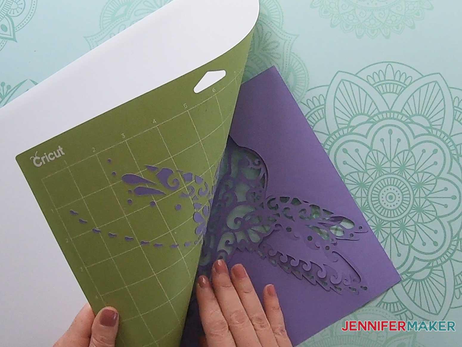 3d layered mandala hummingbird remove mat