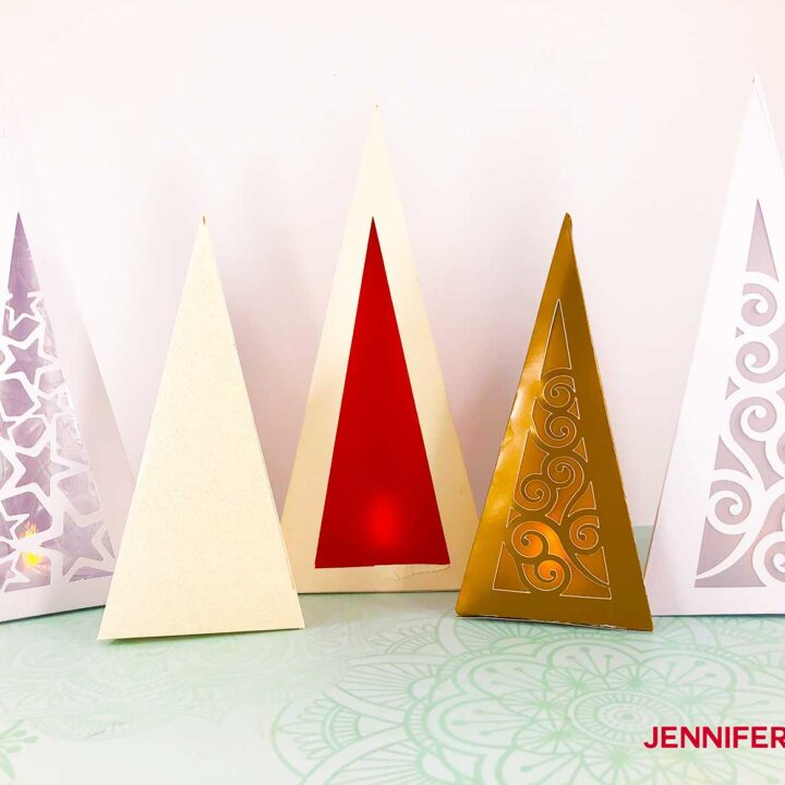 Christmas Tree Luminary all designs