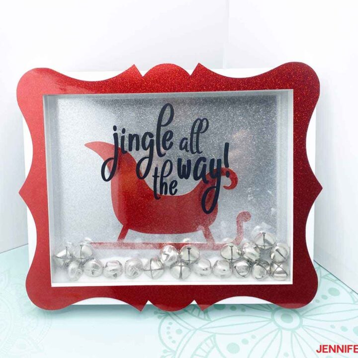 Christmas-craft-red-sleigh-JenniferMaker-Finish