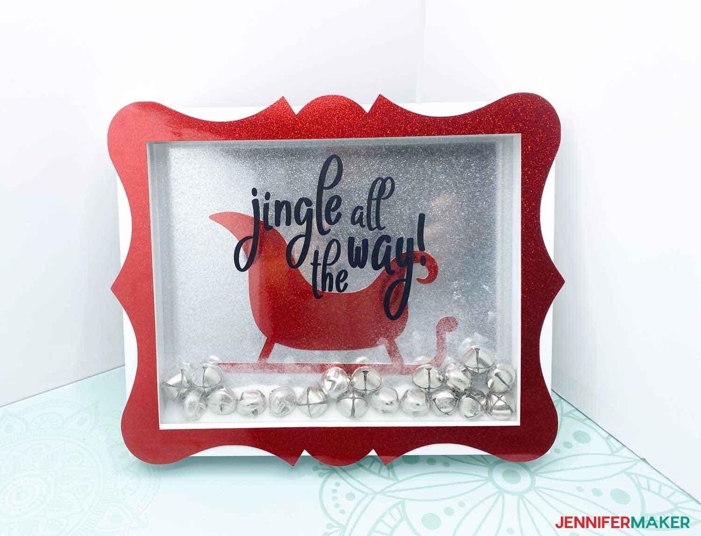 Christmas-craft-red-sleigh-JenniferMaker-Finish