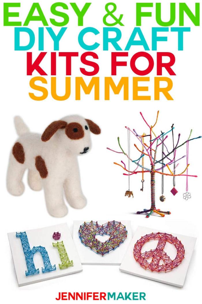 Crafty DIY Gift Guide: 11 Easy and Fun DIY Craft Kits ...
