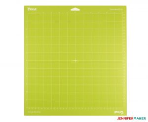 The Green StandardGrip Cricut Cutting Mat for medium-weight materials