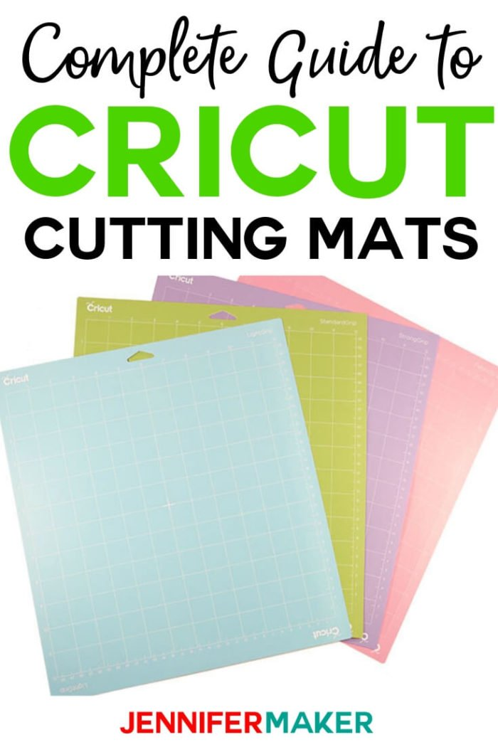 Knowing which Cricut cutting mats to use for specific projects is key. I have broken it down for you so you can craft easier!  #cricut #cricutmade #cricutmaker #cricutexplore #papercrafts #papercrafting