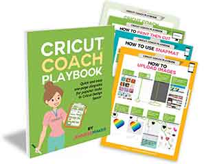 Cricut Coach Playbook: A Collection of Easy One-Page Diagrams for Popular Tasks in Cricut Design Space