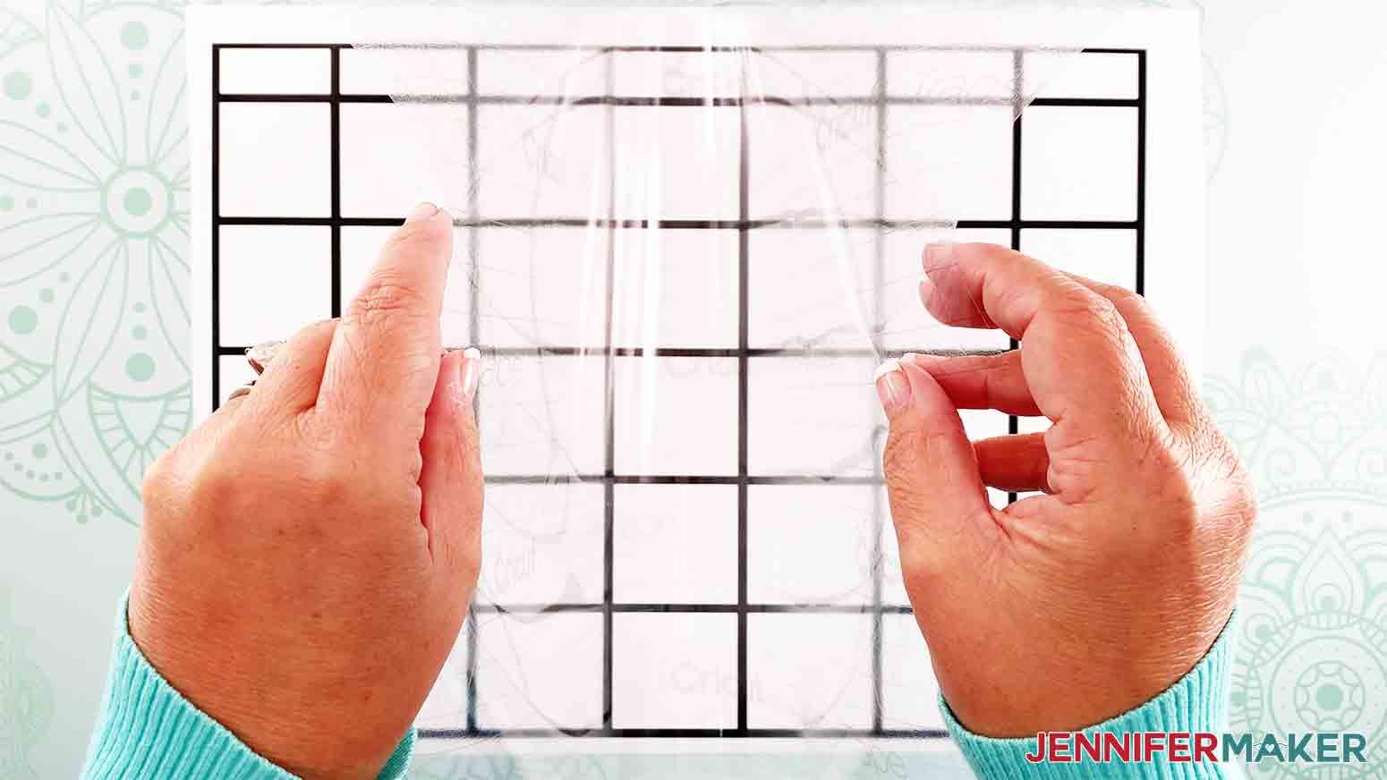 DIY-Whiteboard-Calendar-JenniferMaker-apply-transfer-tape-taco-shape