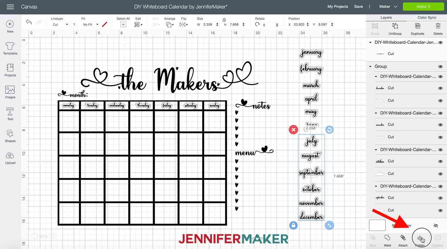 DIY-Whiteboard-Calendar-JenniferMaker-flatten-group-one