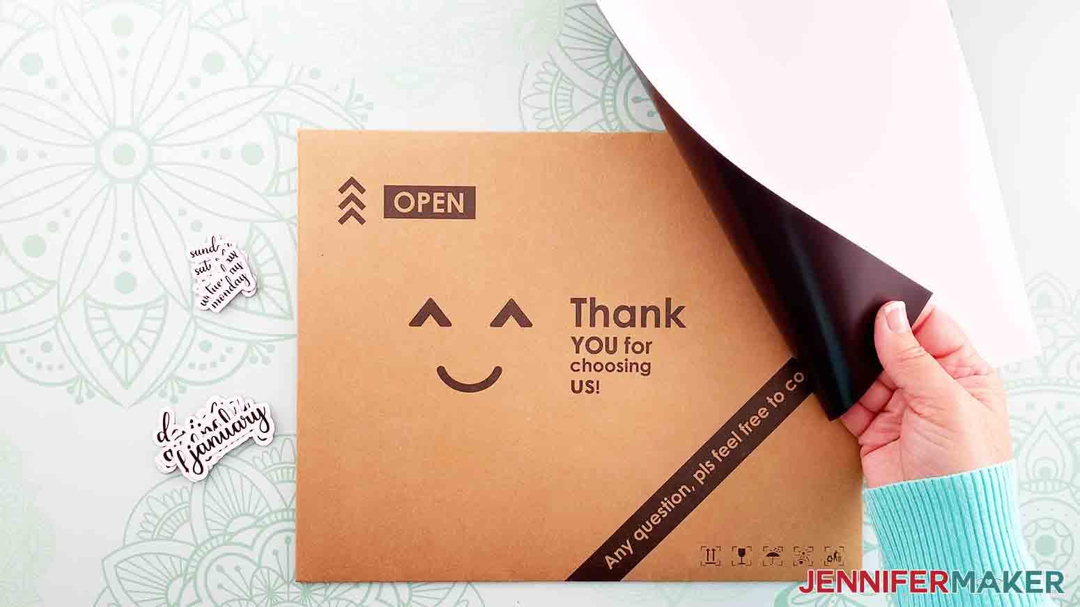 DIY-Whiteboard-Calendar-JenniferMaker-printable-magnetic-sheet