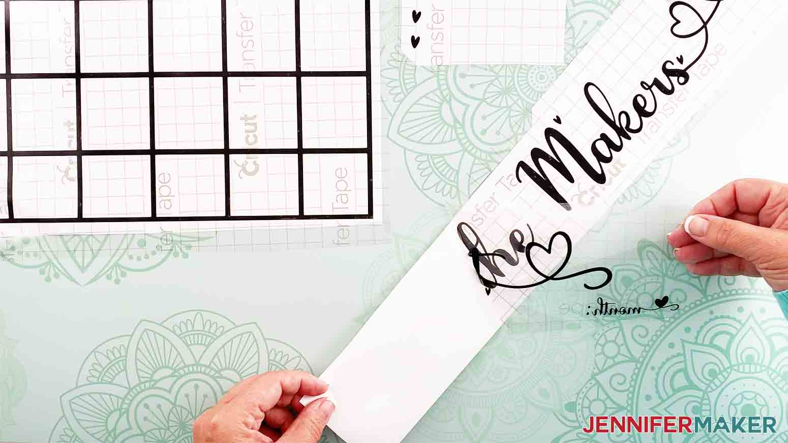 DIY-Whiteboard-Calendar-JenniferMaker-remove-transfer-tape